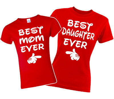 Best Mom Best Daughter Matching T-shirts. Mommy and Me Vacation shirts. XS-3XL