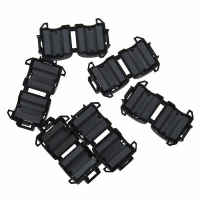 6x Noise Suppressor Reduction EMI RFI Clip Choke Ferrite 8mm Core Cable Filter
