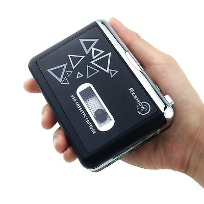 Old Fashion Cassette Player By Reshow | Tape To MP3 Converter Retro Walkman |...