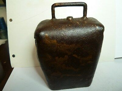 A.h.orman  Condamine Cow Bell With His  Frog Over Oha  Trade Mark