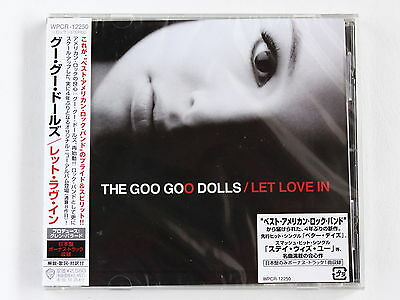 THE GOO GOO DOLLS Let Love In+1 WPCR-12250 JAPAN CD w/OBI 075az58