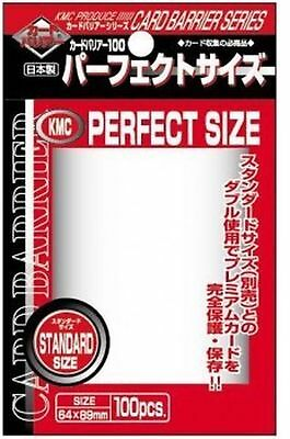 1.000 KMC Perfect Size Sleeves - 10 Packs - Standard Size 3 x 4 - 64 x 89 - I...