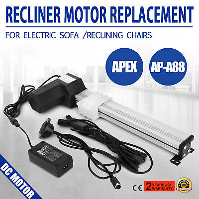 Power Recliner Motor Chair Replacement Switch Kit Actuato Set APEX AP-A88 DC
