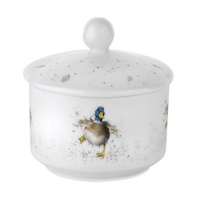 Wrendale by Royal Worcester Duck Sugar Pot