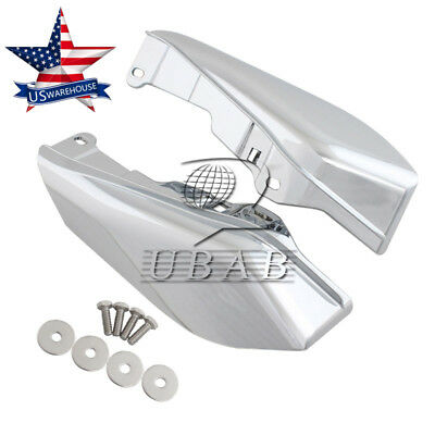 Chrome Mid-Frame Air Deflector For Harley Touring Electra Street Glide 09-17 US