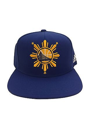 12007da91ac ... get golden state warriors blue philippines adidas snapback hat filipino  heritage cap 683a6 89ce9