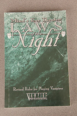 Mind's Eye Theatre - Laws of the Night -  Revised Rules (Vampire Larp/RPG)