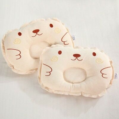 Soft Baby Infant Newborn Bed Pillow Anti Flat Head Support Neck Cushion Pad