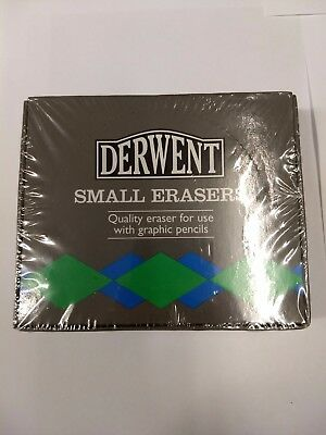 Derwent Small erasers - Box of 36 erasers - Free Shipping
