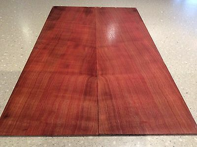 Red Box Figured Drop Top ,Luthier, Box Making, Slab. Craft wood.#2