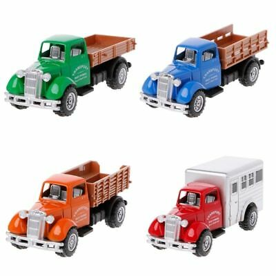 Working Truck Vintage Vehicles Model Kids Playing Car Toy Roleplay Action 1pc