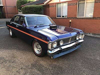 Ford Falcon XY GS Original, 351 V8, Auto, 9in LSD Wild Violet, Stunner- xw xa gt