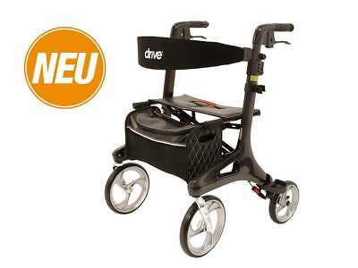 Drive Medical Rollator Nitro Carbon - schwarz 5,5kg