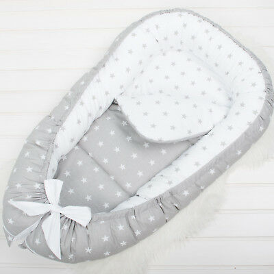 Removable cover, Reversible pad, Baby Nest, babynest, baby nest bed, co sleeper