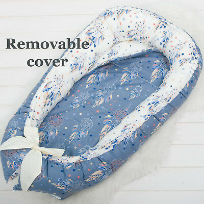 SALE! Removable cover, Reversible pad, Baby Nest, babynest, baby bed, co sleeper