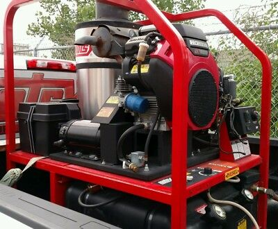 Demo Hotsy 1270SSG Hot Water Gas / Diesel 4.5GPM @ 4000PSI Pressure Washer