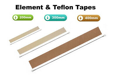 Impulse Heat Sealers Element And Teflon Strip Spares Kit For  200Mm 300Mm 400Mm