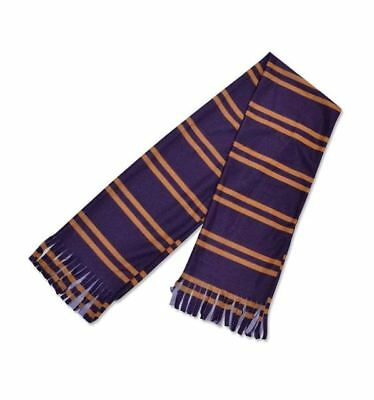 School Boy Scarf - Fancy dress Accessory -  Purple and orange Design