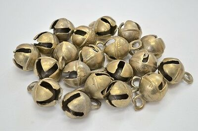 "8 Pcs Handmade Cow Goat Sheep Solid Brass Bells 1 1/2"" #t-223"