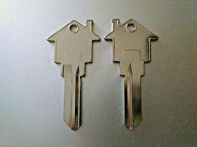 House Shaped Key Blank SC1