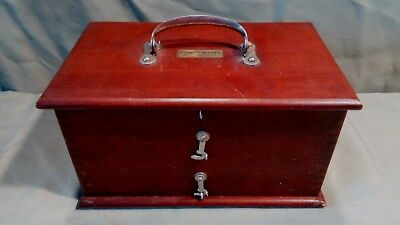 The George P.Pilling & Son Co. Box Antique Collectible Medical Shock Machine