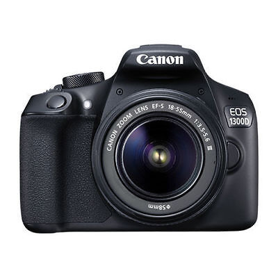 Canon EOS 1300D / Rebel T6 DSLR Camera with 18-55mm II Lens 1159C003