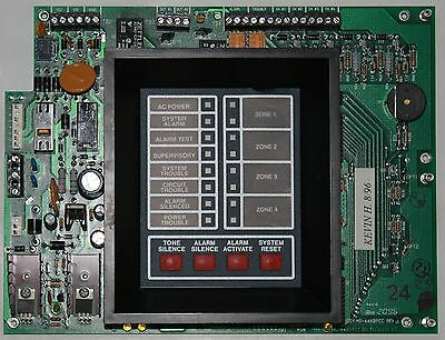 Fire Lite Ms 4424B Fire Alarm Control Panel Replacement Board ms 4424b alarm control panel fire lite alarms used $349 99 picclick  at fashall.co
