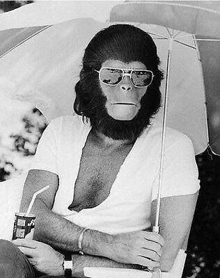 New 6 X 4 Photograph Behind The Scenes Making Of Planet Of The Apes 6