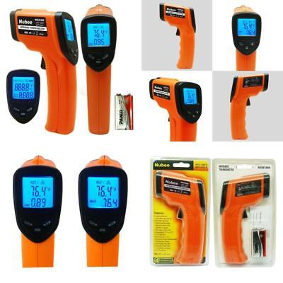 Digital Thermal Heat with Red Laser Pointer Infrared Temperature Gun Thermometer