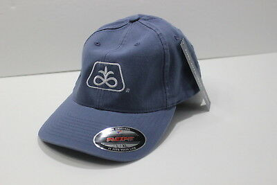 NEW Pioneer Seeds Seed Corn Men's Hat Blue Flexfit Size L/XL Fitted Laurenburg