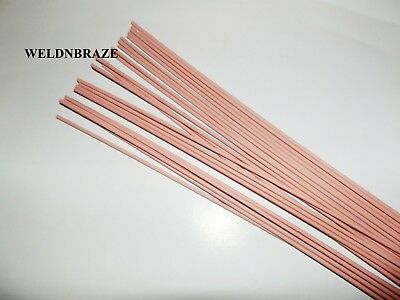 SIF Flux Coated Brazing Rods General Purpose 1.6mm x 300mm  X 4