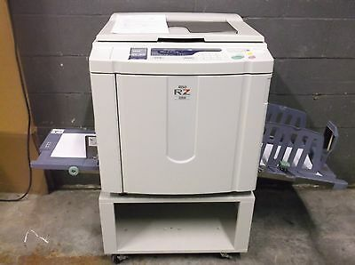 Riso RZ220 High Speed Digital Duplicator MAKING EXCELLENT PRINTS