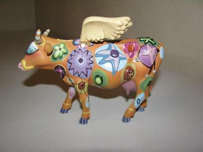 Westland CowParade Angel Cow Figurine #9127 ~ Retired 2000