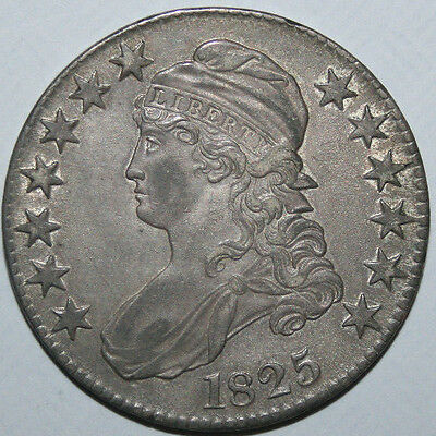 1825 Capped Bust Half K122