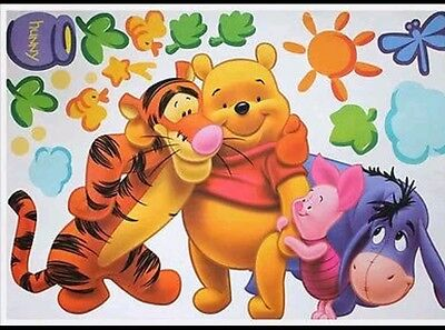 Winnie the Pooh Tiger wall decal sticker boy girl baby nursery