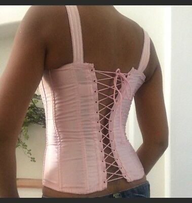 Vintage 1950s bustier corset lingerie festival clothing old hollywood pinup