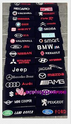 Seat Belt Cover Pads All Car Makes & Models - vauxhall audi bmw volvo seat fiat