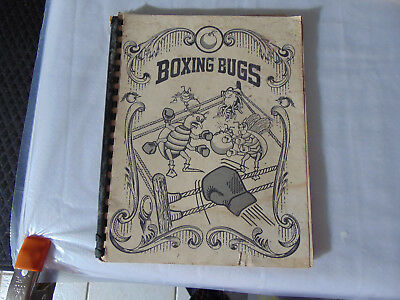 BOXING BUGS Arcade Operation and Maintenance Manual by Cinematronics