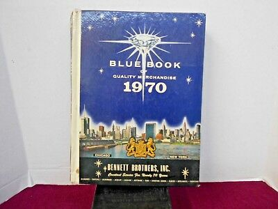 Blue Book Of Quality Merchandise 1970 By Bennett Brothers