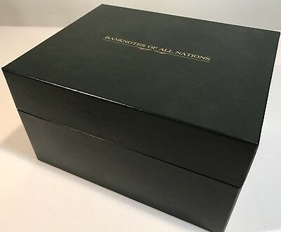 Limited Edition Franklin Mint Banknotes of All Nations. 62 Notes Boxed Set