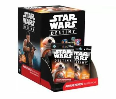 Star Wars Destiny AWAKENINGS Sealed Booster Box FFG Fantasy Flight