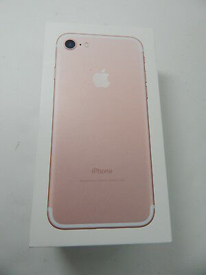 iPhone 7 Plus Apple Empty Box Only NO Accessories - Rose Gold - NO PHONE