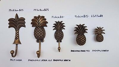 Solid brass Pineapple Hooks And Knobs