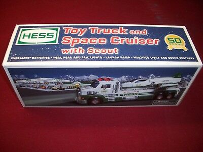 2014 HESS TOY TRUCK and SPACE CRUISER  with SCOUT M.I.B.