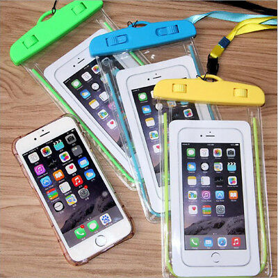 Fluorescence Waterproof Dry Bag Case Cover Cell Phone Touchscreen Protection