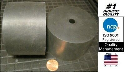 """Rubber Anti-vibration Mount / Spacer, 3"""" OD x 3/8"""" ID x 2"""" Thick (X19-25)"""