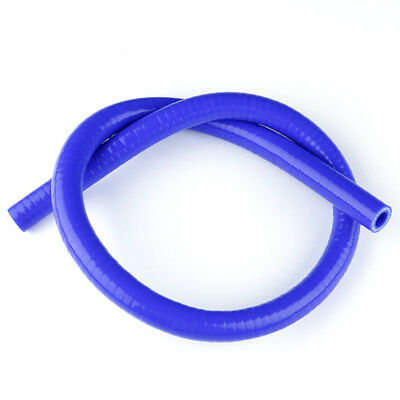 "Blue 3/4""(19mm) 1 METER LONG STRAIGHT 3-PLY SILICONE RADIATOR COUPLER WATER HOSE"