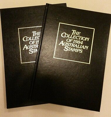The Collection of 1984 Australian Stamps Album and Slipcase - No Stamps Included