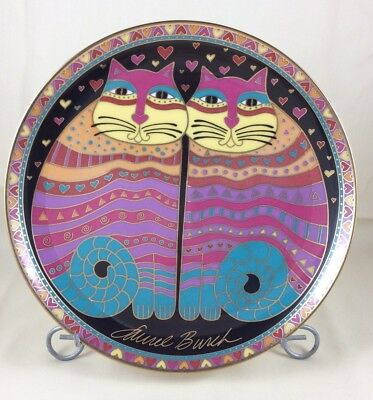 Laurel Burch Collector Plate 1994 Fabulous Felines Franklin Mint