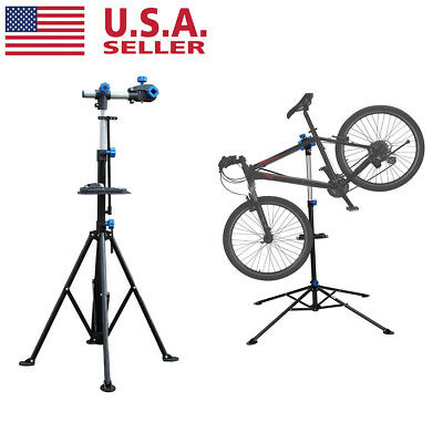"""Adjustable 43"""" To 75"""" Pro Bike Rack Repair Stand w/ Telescopic Arm Bicycle Cycle"""